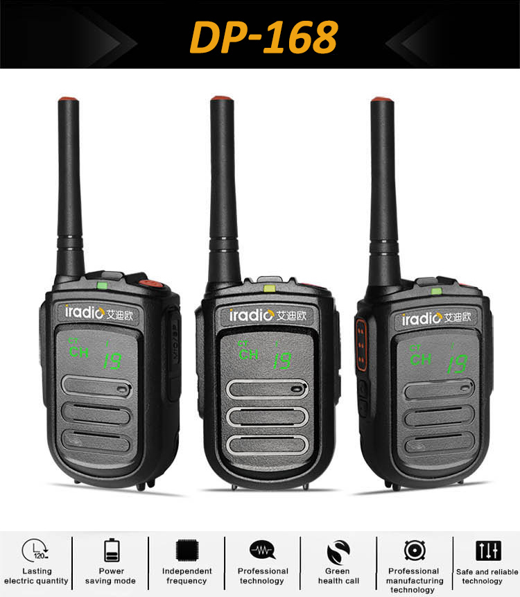 pmr446 mini portable radio