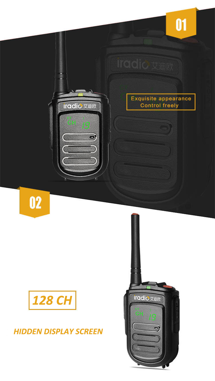 portable uhf walkie talkie
